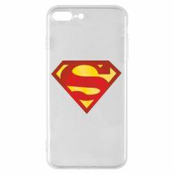 Чехол для iPhone 8 Plus Superman Classic
