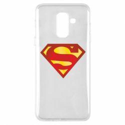 Чехол для Samsung A6+ 2018 Superman Classic