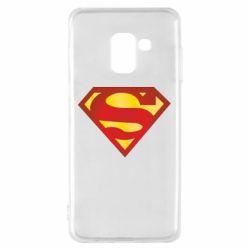 Чехол для Samsung A8 2018 Superman Classic