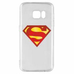 Чехол для Samsung S7 Superman Classic