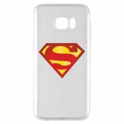 Чехол для Samsung S7 EDGE Superman Classic