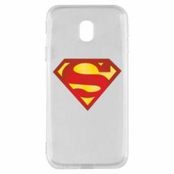 Чехол для Samsung J3 2017 Superman Classic
