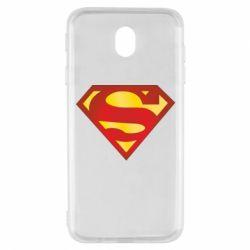 Чехол для Samsung J7 2017 Superman Classic
