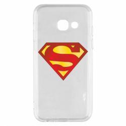 Чехол для Samsung A3 2017 Superman Classic