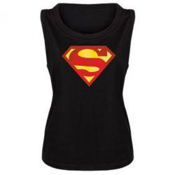 Женская майка Superman Classic