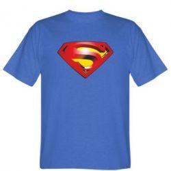 Мужская футболка Superman Emblem - FatLine