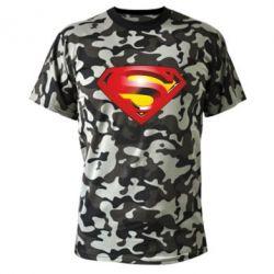 Камуфляжная футболка Superman Emblem - FatLine