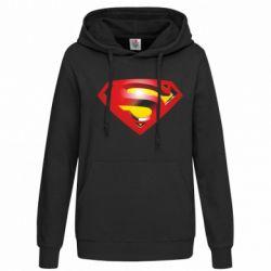 Женская толстовка Superman Emblem - FatLine