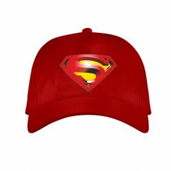 Детская кепка Superman Emblem - FatLine