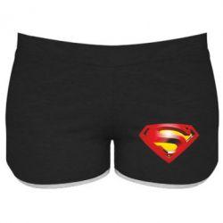 Женские шорты Superman Emblem - FatLine