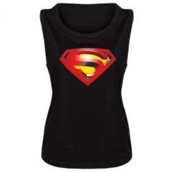 Женская майка Superman Emblem - FatLine