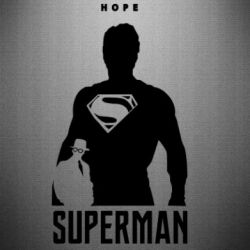 Наклейка Superman, hope