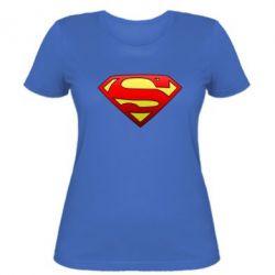 Женская футболка Superman Logo - FatLine
