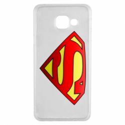 Чехол для Samsung A3 2016 Superman Logo