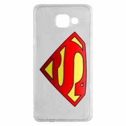 Чехол для Samsung A5 2016 Superman Logo