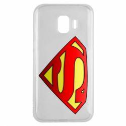 Чехол для Samsung J2 2018 Superman Logo