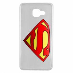 Чехол для Samsung A7 2016 Superman Logo