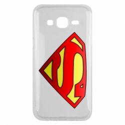Чехол для Samsung J5 2015 Superman Logo