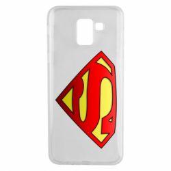 Чехол для Samsung J6 Superman Logo