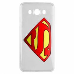 Чехол для Samsung J7 2016 Superman Logo