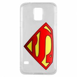 Чехол для Samsung S5 Superman Logo