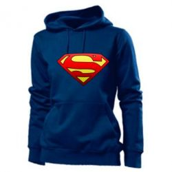 Женская толстовка Superman Logo - FatLine