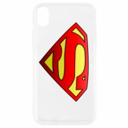 Чохол для iPhone XR Superman Logo