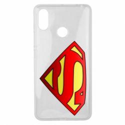 Чехол для Xiaomi Mi Max 3 Superman Logo