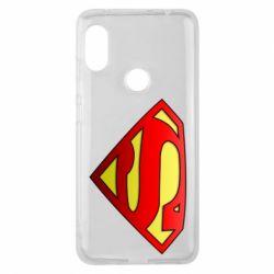Чехол для Xiaomi Redmi Note 6 Pro Superman Logo