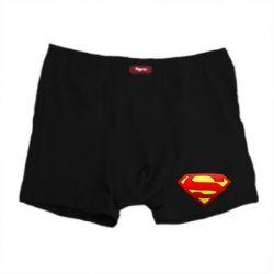 Мужские трусы Superman Logo - FatLine