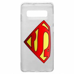 Чехол для Samsung S10+ Superman Logo