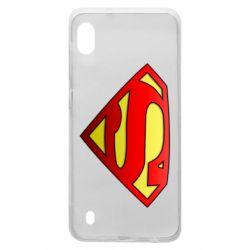 Чехол для Samsung A10 Superman Logo
