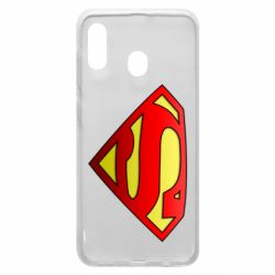 Чехол для Samsung A20 Superman Logo