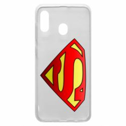 Чехол для Samsung A30 Superman Logo