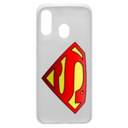 Чехол для Samsung A40 Superman Logo