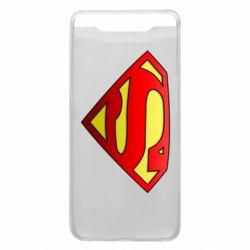 Чехол для Samsung A80 Superman Logo