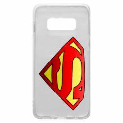 Чехол для Samsung S10e Superman Logo