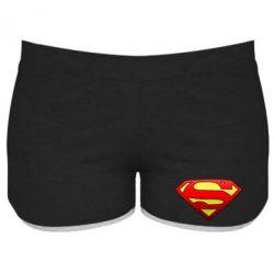Женские шорты Superman Logo - FatLine