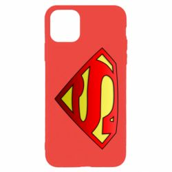 Чохол для iPhone 11 Pro Max Superman Logo