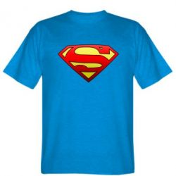 Мужская футболка Superman Logo - FatLine