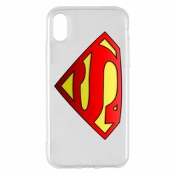 Чохол для iPhone X/Xs Superman Logo