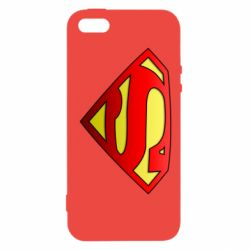 Чохол для iphone 5/5S/SE Superman Logo