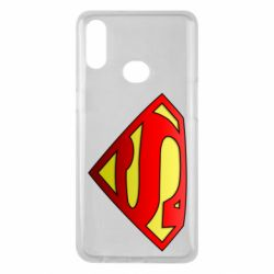 Чехол для Samsung A10s Superman Logo