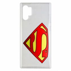 Чехол для Samsung Note 10 Plus Superman Logo