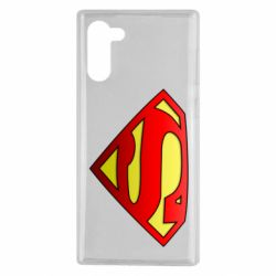 Чохол для Samsung Note 10 Superman Logo