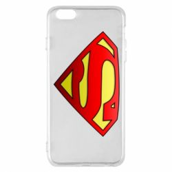Чохол для iPhone 6 Plus/6S Plus Superman Logo