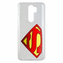 Чехол для Xiaomi Redmi Note 8 Pro Superman Logo