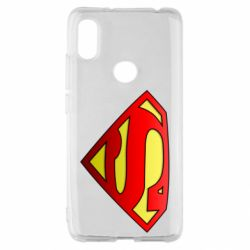 Чохол для Xiaomi Redmi S2 Superman Logo