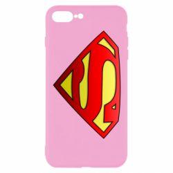 Чехол для iPhone 8 Plus Superman Logo