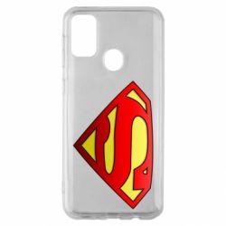 Чехол для Samsung M30s Superman Logo